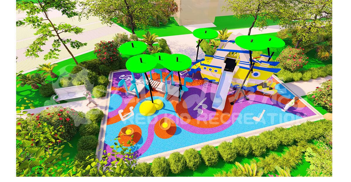 小区休闲娱乐设施