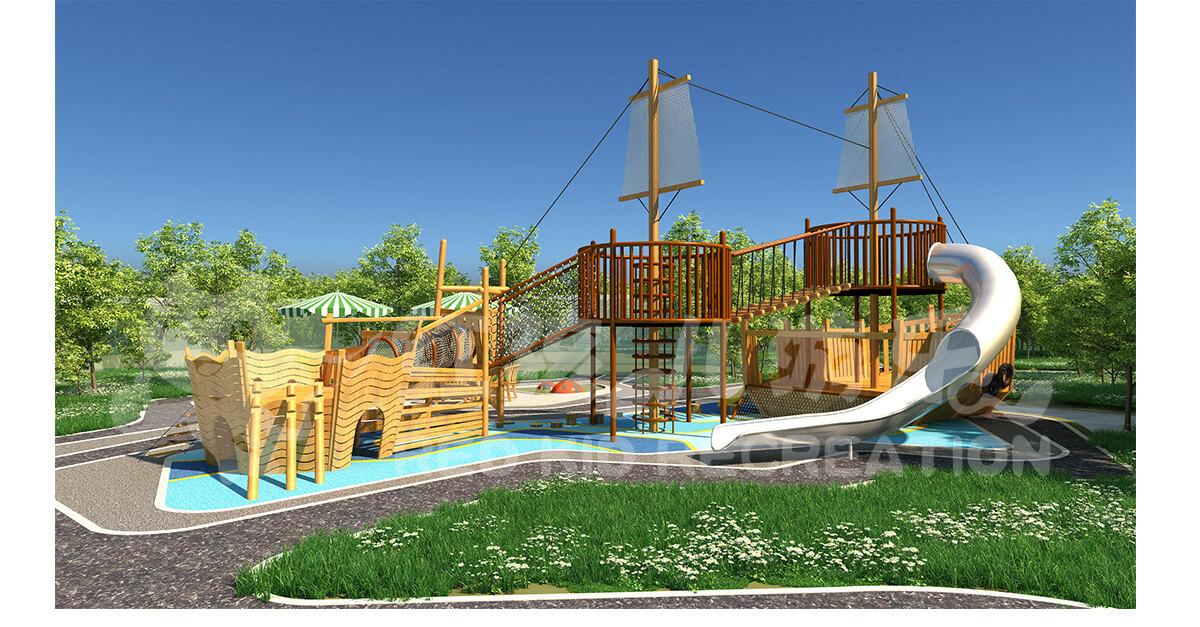 儿童海盗船游乐设施